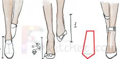 Free Online Fashion School | Drawing Feet
