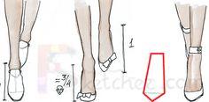 Free Online Fashion School   Drawing Feet