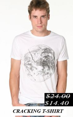 50% Discount. Cracking t-shirt. Now it's only.... $14.40