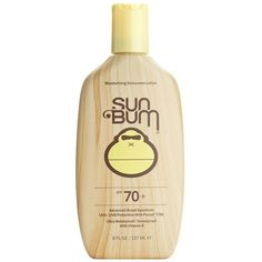 Sun Bum Sunscreen Lotion ($16) ❤ liked on Polyvore featuring beauty products, bath & body products, sun care, beauty, makeup, fillers, accessories y cosmetics