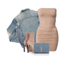"""""""'DENIM' by Melissa's Mirror"""" by melissas-mirror ❤ liked on Polyvore featuring AMIRI, Alexander McQueen, Yves Saint Laurent, women's clothing, women, female, woman, misses and juniors"""