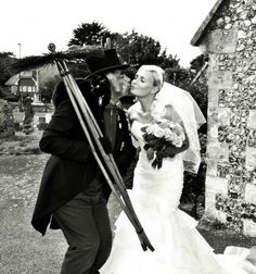 Chimney Sweep Luck. I'd do this on my wedding for good luck. I like the tradition and story behind it.