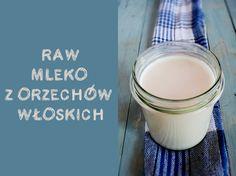 Wegan Nerd - Kuchnia roślinna : Mleko z orzechów włoskich! Szybko i surowo :D Glass Of Milk, Nerd, Vegan, Drinks, Green, Diet, Drinking, Beverages, Drink
