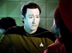 Data trying to understand humour<<he is so adorable