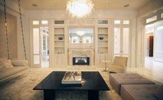 Decoração sala Gwyneth Paltrow romântico lustre feminino