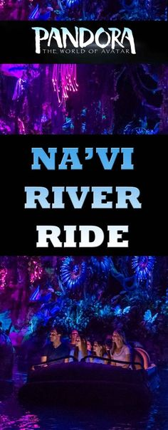 REVIEW: The Na'vi River Ride in Pandora. A beautiful and gentle river ride through a stunning alien landscape. It's a fantastic new ride in Disney's Animal Kingdom.  A great ride for kids of all ages.