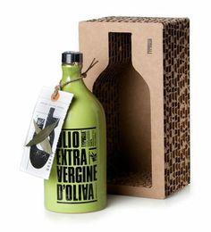 Olive Oil cardboard packaging