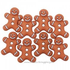 Dress It Up Holiday Embellishments Iced Cookies. The perfect embellishments for your scrapbook layouts, holiday cards, sewing projects and more! Add loads of fun and adorable shapes to all your paper and fabric crafts. Gingerbread Man, Gingerbread Cookies, Factory Direct Crafts, Dessert Tray, Miniature Christmas Trees, Iced Cookies, Craft Sale, Gift Packaging, Christmas Projects
