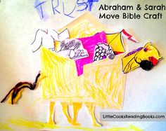 Bible Story Craft: Abraham and Sarah Move | Little Cooks Reading Books