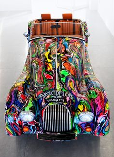 Morgan  I want one like this... or at least a car decorated like this (but a Morgan would be pretty cool, I gotta tell ya)