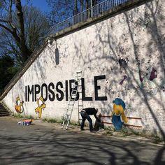 Street Art by Jace : Pris en flag