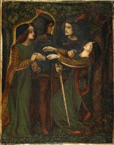 Dante_Gabriel_Rossetti_-_How_They_Met_Themselves_(1860-64_circa).jpg (589×743)