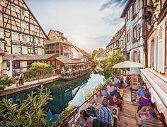 Little Venice, Colmar, Alsace, France