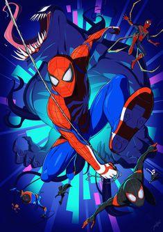 Peter Parker& alter-ego Spider-Man is a fictional character, a super-h . - O Homem-Aranha alter-ego de Peter Parker, é um personagem fictício, um super-h… Peter Parker& - Marvel Avengers, Marvel Comics, Comics Spiderman, Marvel Art, Marvel Heroes, Marvel Characters, Mysterio Spiderman, Ms Marvel, Captain Marvel