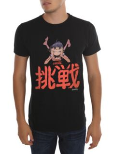 "Gorillaz ""Dare"" black t-shirt"