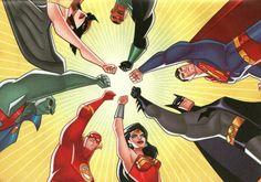 Batman DC Comics Superman The Flash Wonder Woman - Wallpaper (#1229737) / Wallbase.cc