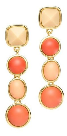 beautiful Tory Burch drop earrings http://rstyle.me/n/j774hr9te