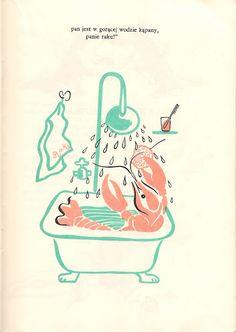 Franciszka Themerson, 1946, viaGaraż ilustracji książkowych,