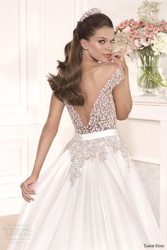 Tarik Ediz White 2014 Wedding Dresses — Part 2 | Wedding Inspirasi