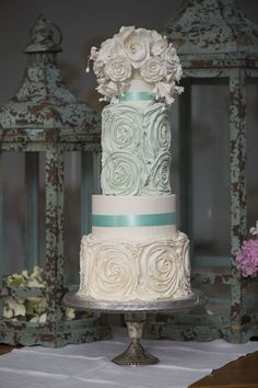 Buttercrem Wedding Cakes