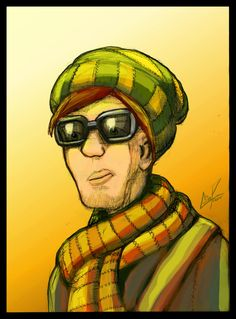 This was a sketch done with a mechanical pencil then colored with gimp Guy with toque and scarf Mechanical Pencils, Sketch, Deviantart, Guys, Painting, Color, Collection, Ideas, Sketch Drawing