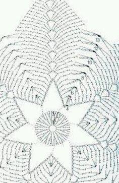 Diy Crochet Pillow, Free Crochet Bag, Crochet Cushions, Crochet Tablecloth, Crochet Home, Crochet Doilies, Crochet Flowers, Knit Crochet, Mandala Au Crochet