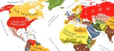 How Your Country Is Perceived By Other Countries (Stereotype Maps)