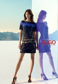Ad Campaign: Kasia Struss for Hugo by Hugo Boss, S/S 2014