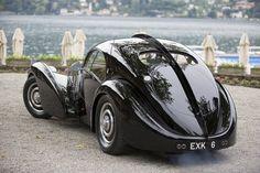 at the 2013 Concorso d'Eleganza , Lake Como in Italy ......1938 Bugatti 57SC Alantic