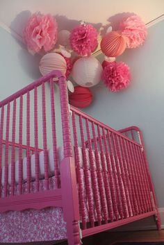 How to spray paint a crib