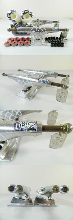 Trucks 36625: Thunder Lights 149 Hi Polished Skateboard Trucks + Bones 100S 54Mm White Wheels -> BUY IT NOW ONLY: $64.99 on eBay!