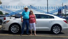 Congratulations and Best Wishes Paul and Carolyn on the purchase of your 2016 BUICK LACROSSE!  We sincerely appreciate your business, Orr Chevrolet and KENYON FEDERICK.