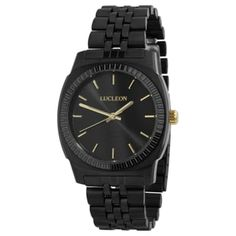 * Designed in Denmark * Solid stainless steel band & case * Elegant gift box included * Water resistant: 3 ATM Black And Brown, Black Gold, Boys Watches, Bracelet Cuir, Beautiful Gift Boxes, Watch Brands, Stainless Steel Case, Link Bracelets, Quartz Watch