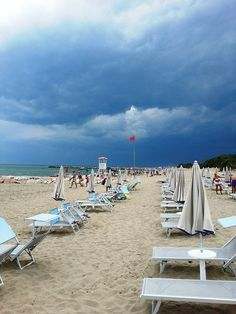 Beaches in Venice Italy | Eraclea Mare Beach, Venice, Italy