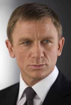 Pin for Later: The Sexiest Photos of Daniel Craig as James Bond Up Close . and personal is where we want to be. Top Hollywood Actors, Daniel Graig, Daniel Craig James Bond, Hairstyles Haircuts, Famous Faces, Celebrity Gossip, Movie Stars, Actors & Actresses, Hair Cuts