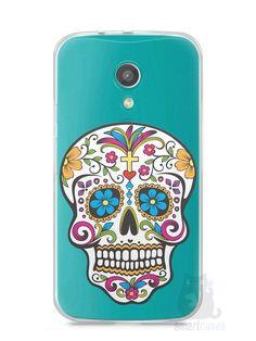 Capa Moto G2 Caveira Mexicana - SmartCases - Acessórios para celulares e tablets :)
