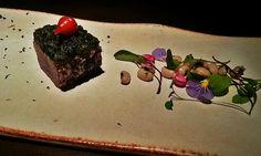ChecKim: Hashi Art Cuisine - Atum, pesto de coentro e saladinha de feijão fradinho