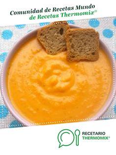 Crema a las 6 verduras por asj. La receta de Thermomix<sup>®</sup> se encuentra en la categoría Sopas y cremas en www.recetario.es, de Thermomix<sup>®</sup> Peanut Butter, Dips, Pudding, Fruit, Desserts, Gazpacho, Food, Cooking Recipes, Tasty