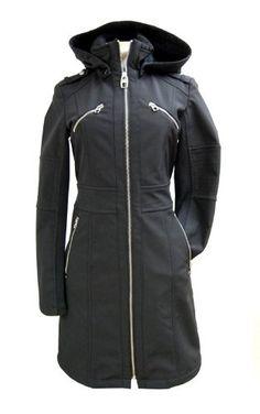 Miss Sixty Jacket Coat, S32728m , Black, Xsmall $102.99