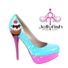 Chaussure cupcake