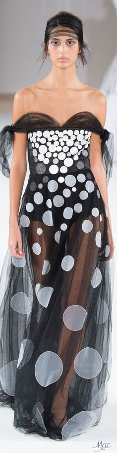 Rosamaria G Frangini | Adorables Dots | Spring 2016 Haute Couture Yanina