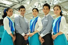 Cabin crew will be responsible for ensuring the safety of our passengers as well as providing excellent customer service at all times. Cabin Crew Recruitment, Airline Uniforms, Come Fly With Me, Flight Attendant, A Boutique, Bangkok, Travel, Minimal, Image