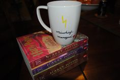 Harry Potter Coffee Mug  Mischief Managed by TheWanderingShack, $12.00