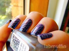 piCture pOlish 'Mirage' by Sara Hassan's Blog with amazing nail art swatched by Lab Muffin!