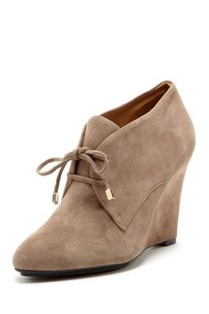 William Wedge Bootie. Love the bootie. Neutral color too:)