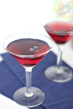 Blueberry Vanilla Martini Recipe