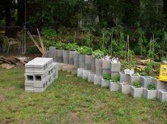 funky garden wall