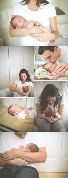Love these shots with mommy, daddy and baby.  These would be perfect for my brand new baby nephew!!!