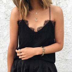 pretty black lace