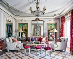 Timothy Corrigan - Paris Apartment Decor Ideas Photos | Architectural Digest